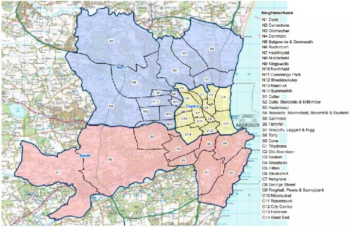 Review of City Localities   Aberdeen City HSCP